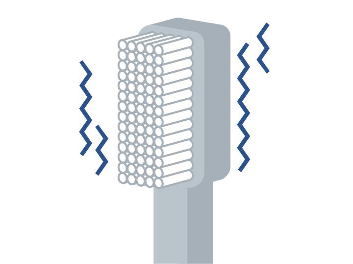 振動式電動歯ブラシ