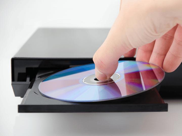 AV機器とディスク