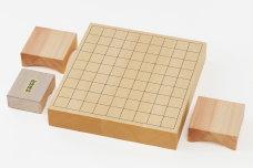 卓上将棋盤(2寸)木製駒付きセット