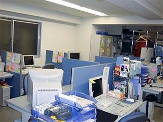 創業当時のオフィス