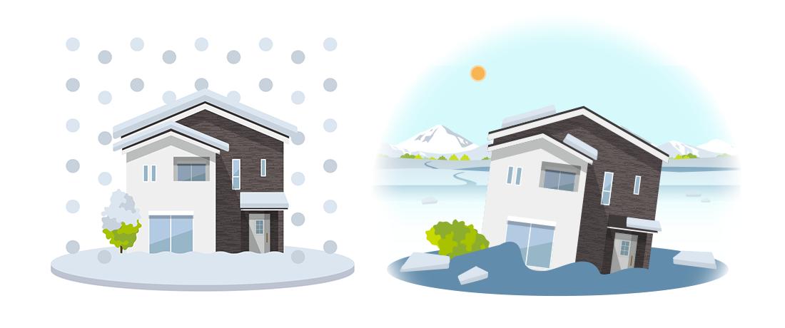 雪による被害は保険で補償される?