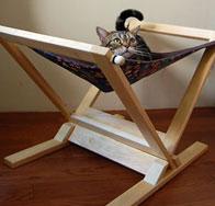 ハンモック型 猫用ベッド