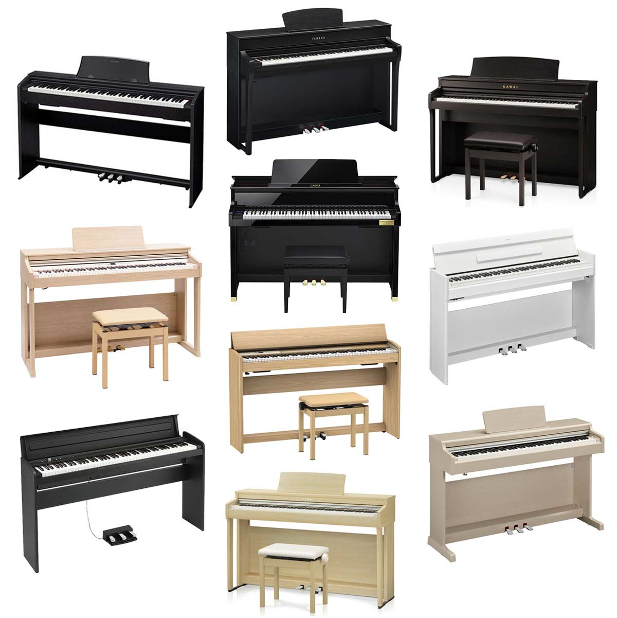 《2018年》おすすめの電子ピアノ10選! 初心者向けから本格派モデルまで