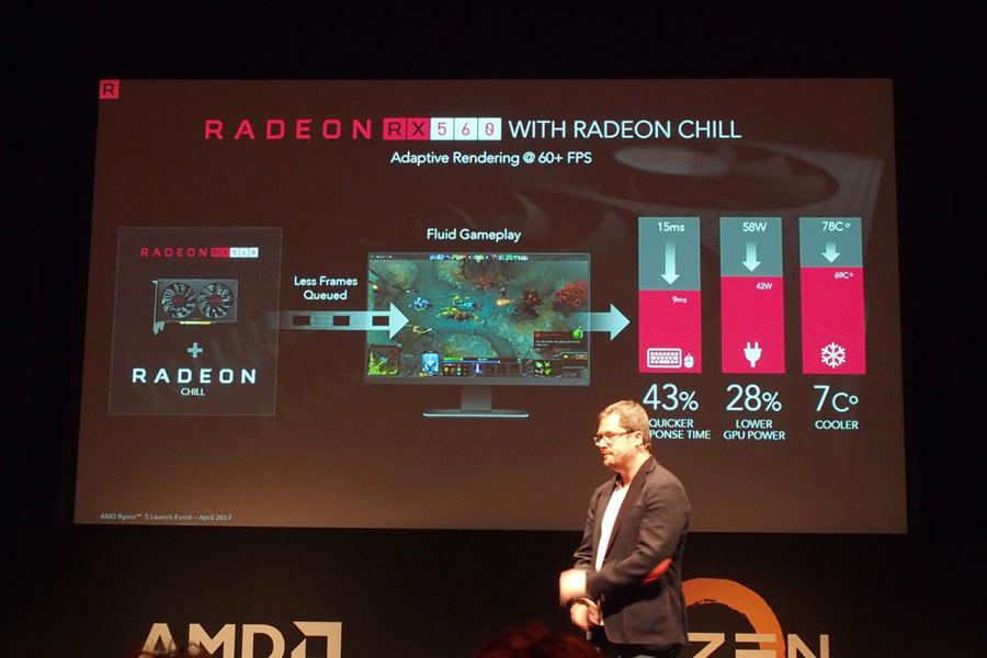 AMDからPolaris世代の新ミドルレンジGPU「Radeon RX 500