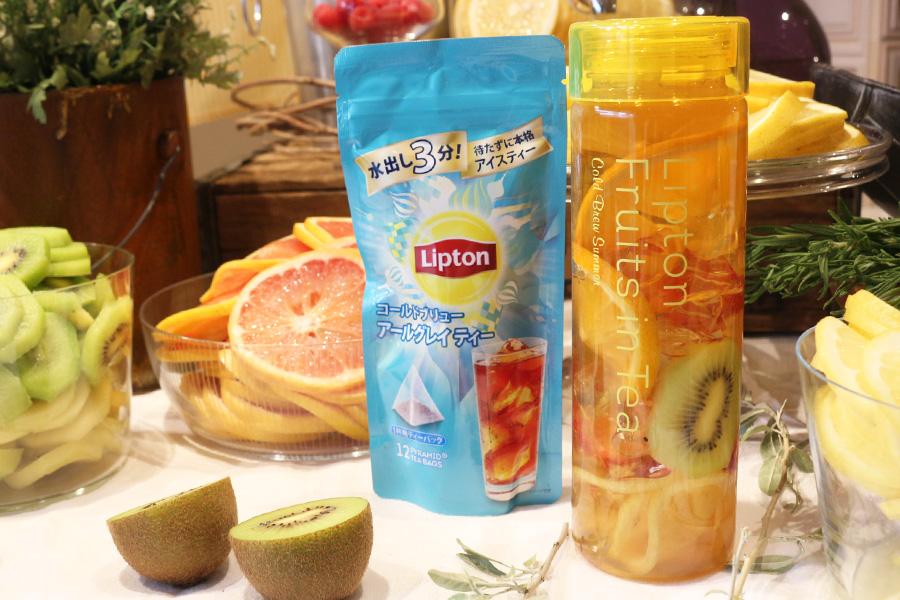 暑い日にごくごく飲みたい! リプトンの「フルーツインティー」を体験