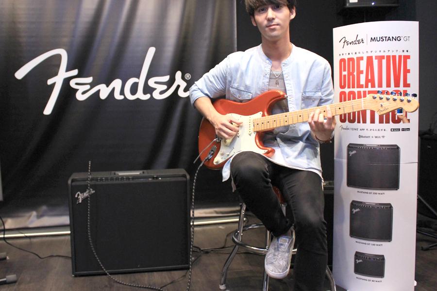 楽器もIoT!? Fenderの世界初Wi-Fiギターアンプ「MUSTANG GT」がアツい