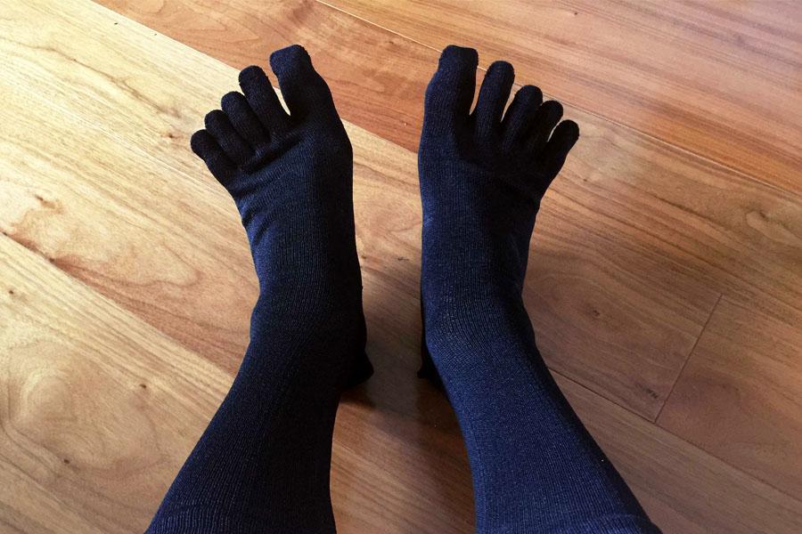 """""""和紙""""で作った靴下が快適♪ 足のニオイも封印できるかも!?"""