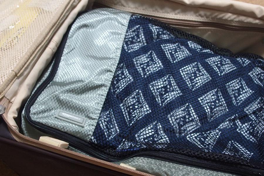 衣類を小分けにできる「Amazonのケース」で快適な旅をどうぞ♪