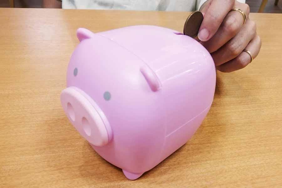 知ってる人しか開けられない、秘密の貯金箱でへそくり貯めちゃえ♪