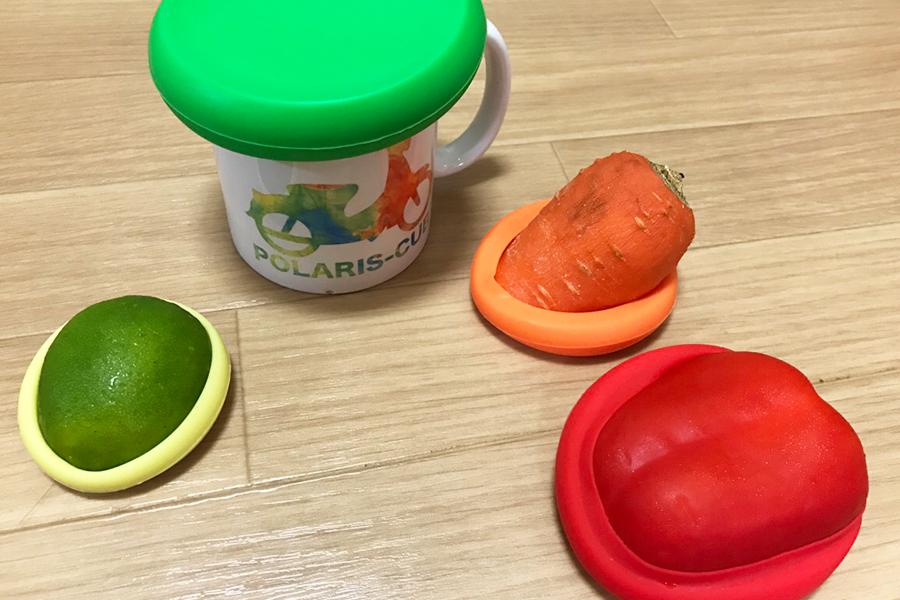 新保存術! 使いかけの野菜にピタッと密着するシリコンキャップが超優秀