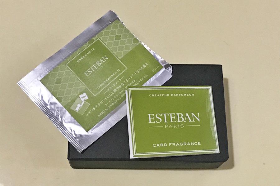 フレグランス エステバン カード