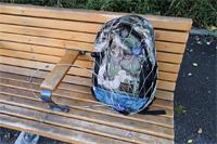置き引き対策に! 荷物をまるっと包んで守る金属製メッシュワイヤー