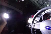 """高評価は本当だった! 車内の探し物には""""ワークライト""""が明るくて便利"""
