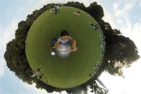 「マトリックス」風360°動画が撮れる「Insta360 ONE」