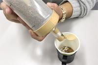 誰でもおいしいコーヒーが淹れられる!? 計量機能付きディスペンサー