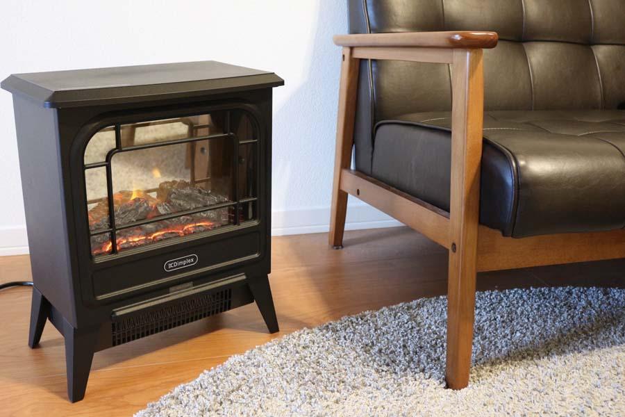 超リアル! 暖炉みたいなヒーター「マイクロストーブ」がおしゃれで素敵で癒される
