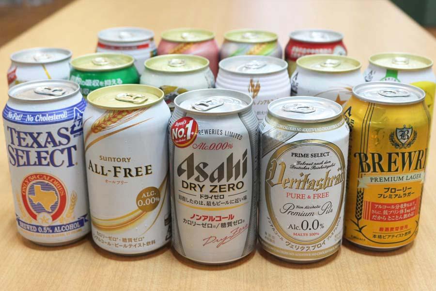 ノンアルコールビール15種を飲み比べてランキング—ビールに近いのはどれ?