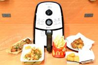 ノンオイルフライヤーでマック、KFC、てんや、銀だこがおいしくなるか実験!