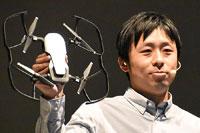 DJIの新・折りたたみ式ドローン「Mavic Air」は3軸ジンバル付き4Kカメラ搭載で430g!