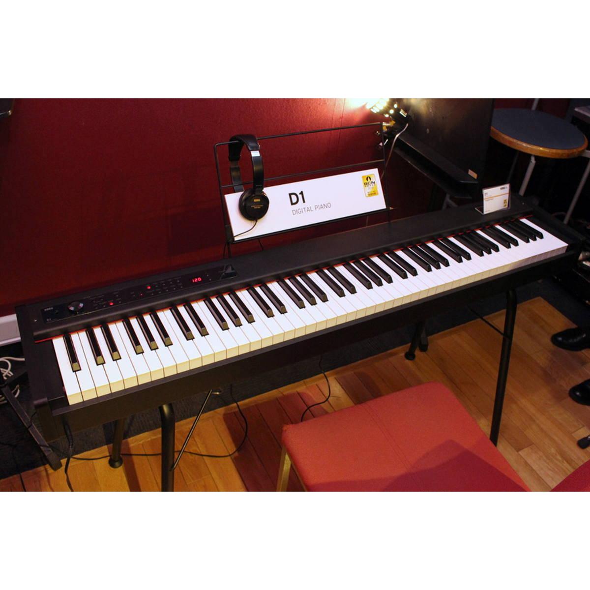 極限までスリム化にこだわった! コルグのポータブル電子ピアノ「D1」