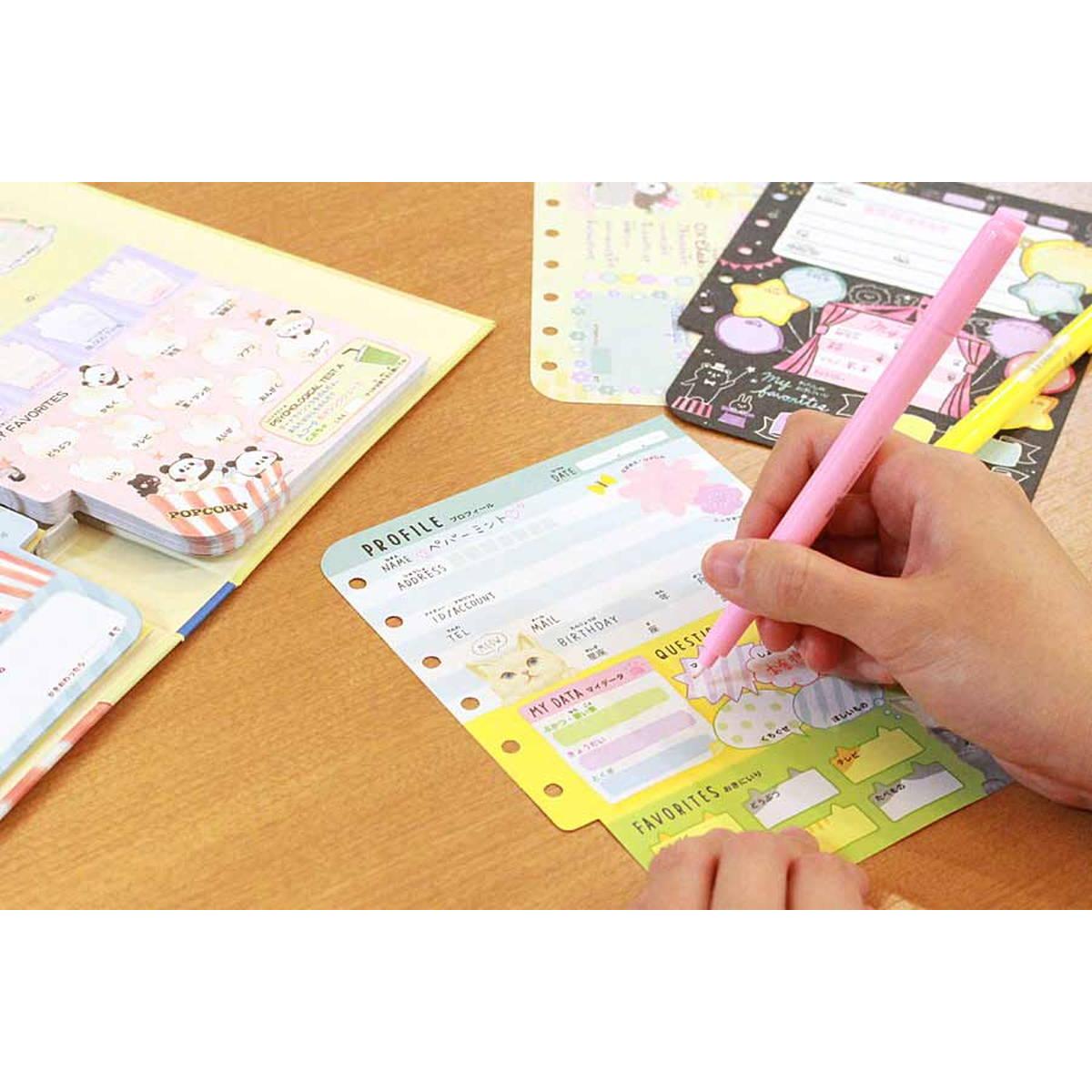 覚えてる? 小学校で大流行した「プロフィール帳」が進化していた!