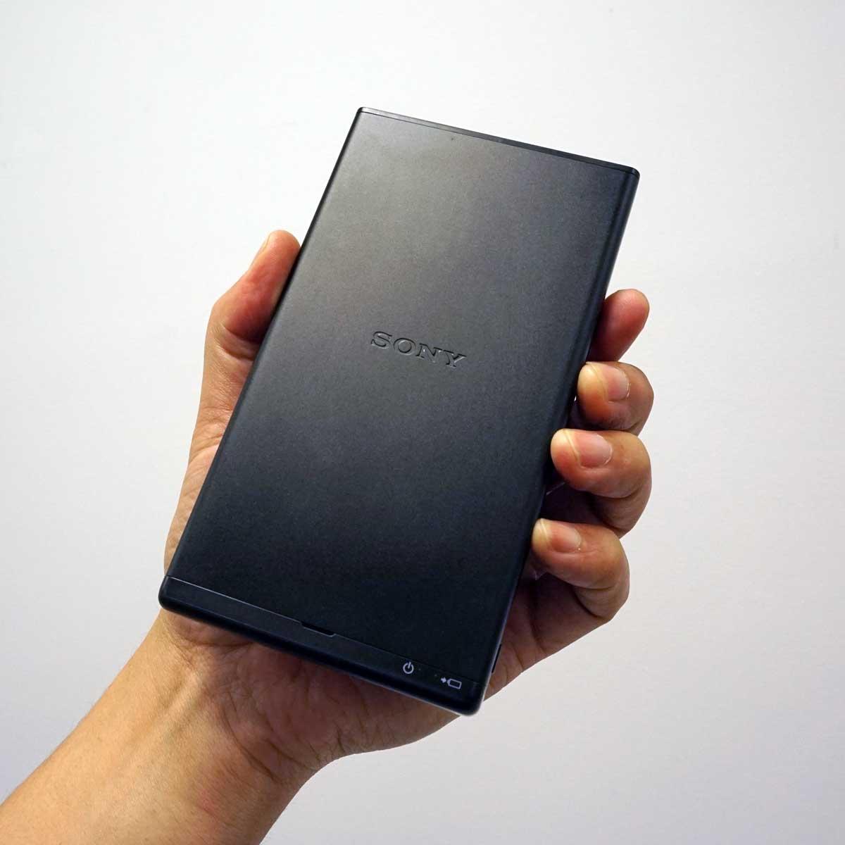ソニーのスマホサイズのバッテリー内蔵モバイルプロジェクター「MP-CD1」速攻レビュー
