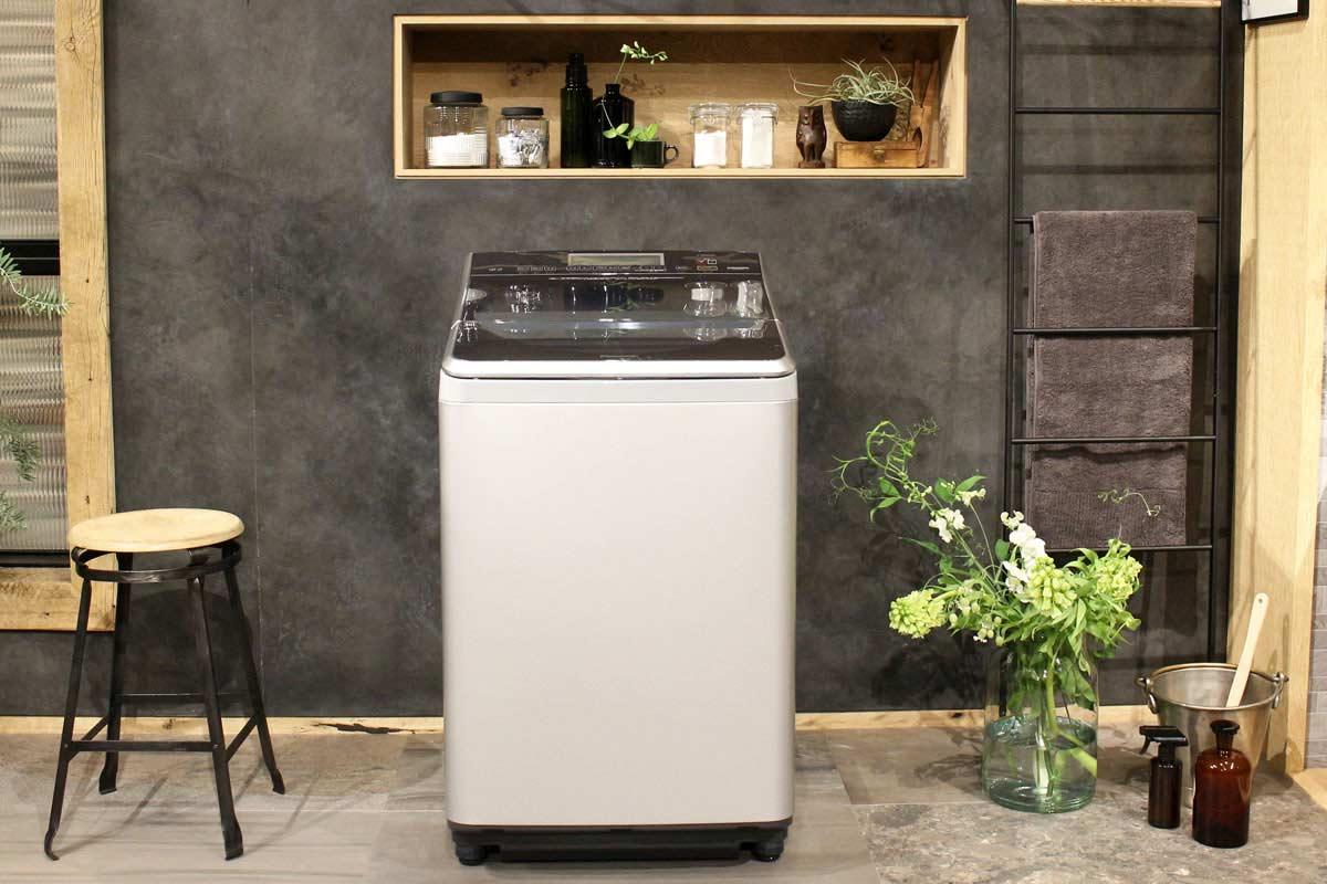 """""""見せたくなる""""パナソニックの新・縦型洗濯機は黄ばみも落とせる実力派!"""