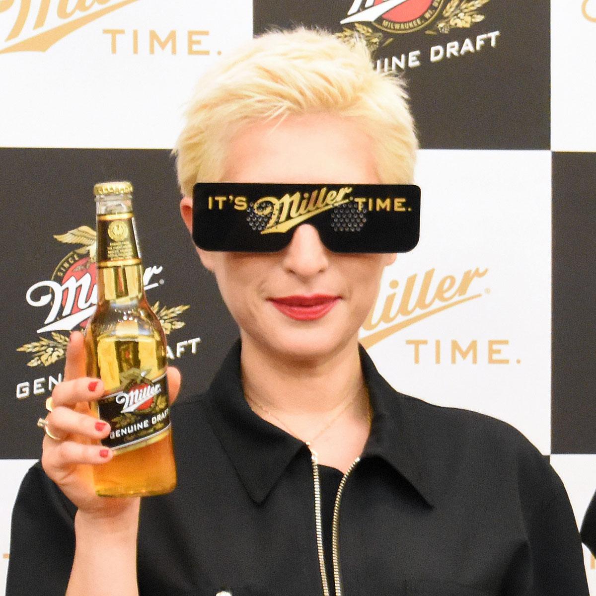 パリピのための新プレミアム瓶ビール「ミラー」! 日本のナイトライフ席巻狙う