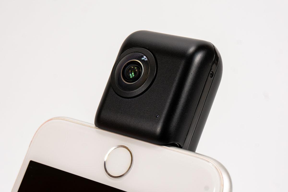 iPhoneを4K VRカメラに!  「Insta360 Nano S」で360°動画を撮ってみた
