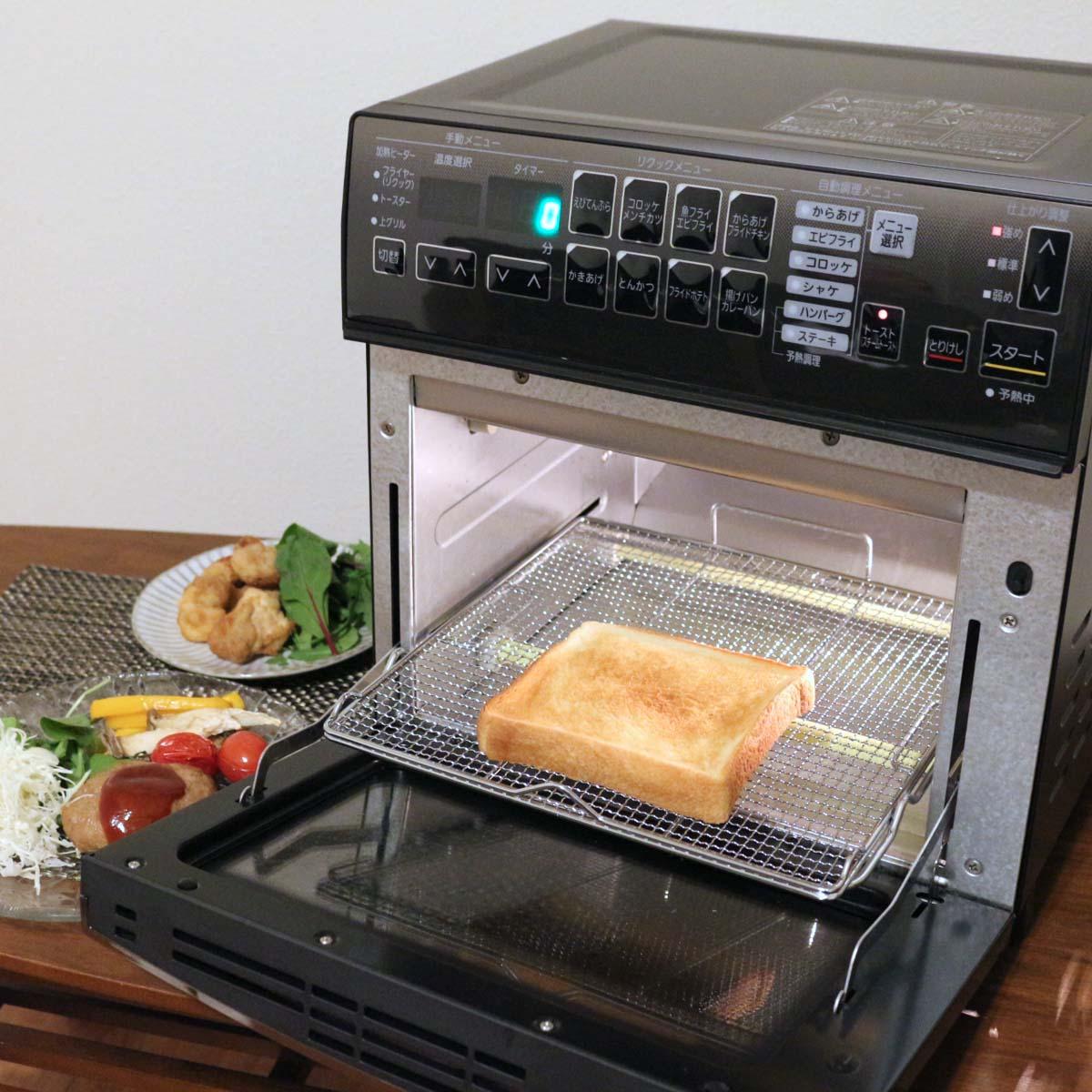 """""""使える""""トースターをお探しなら、アイリスオーヤマ「リクック熱風オーブン」を見逃さないで!"""