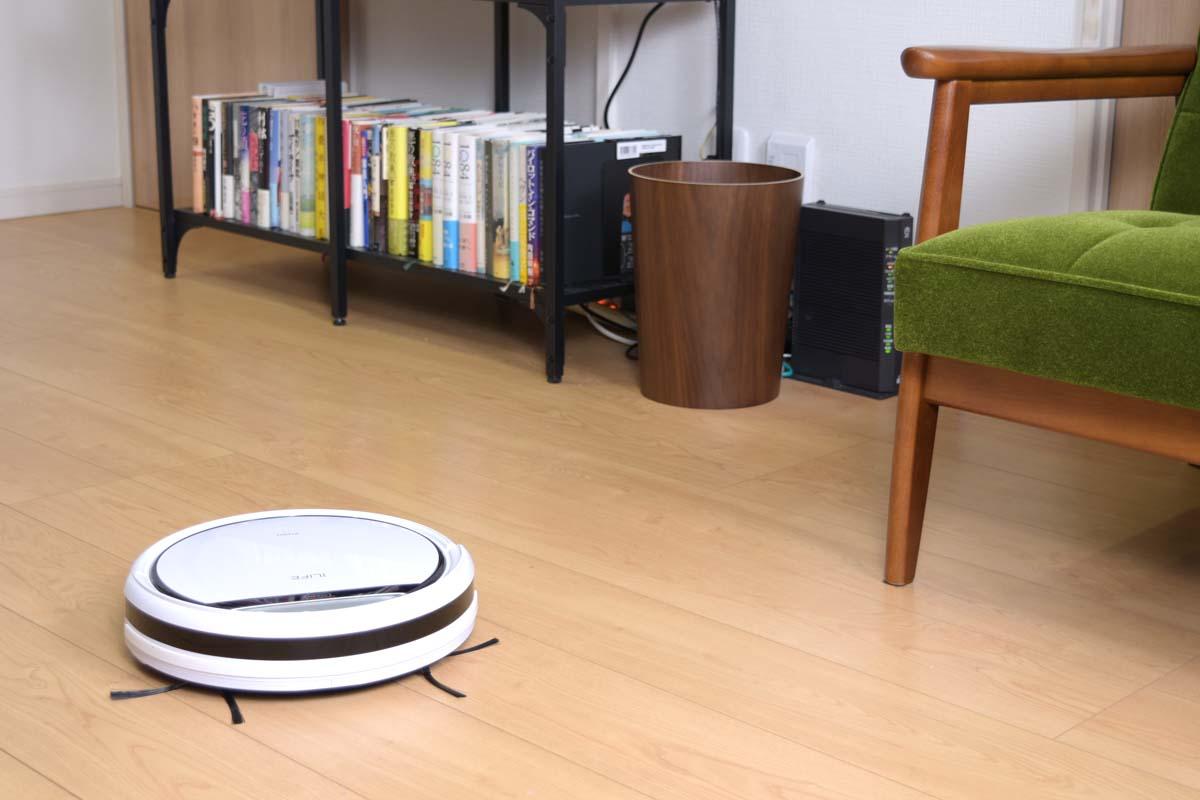 ILIFE「V3s Pro」を使って実感。安いロボット掃除機がすべてダメなわけじゃない