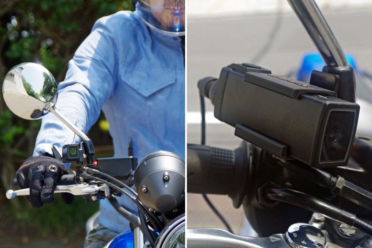 バイク用ドライブレコーダーの大本命!? デイトナ「旅ドラレコ DDR-S100」を試す!