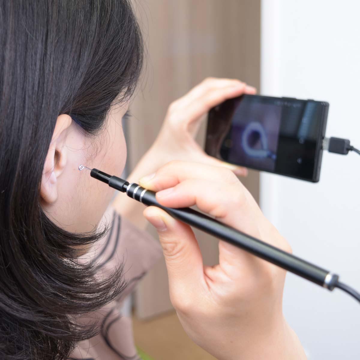 サンコー「カメラで見ながら耳掃除! 爽快USB耳スコープ」で耳かきが劇的に変わる