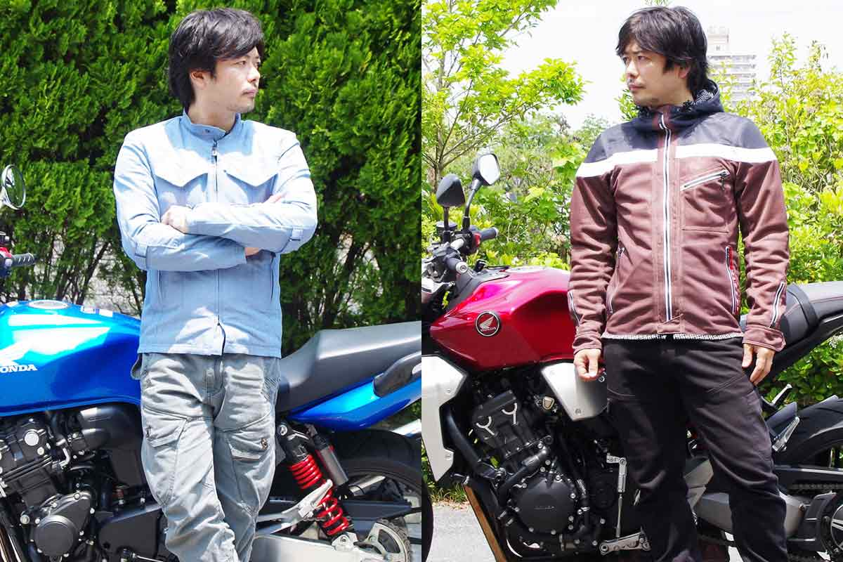 夏に最適なライディングジャケットはどれ? 注目の新作6着をバイク乗りが全部着て確かめた!