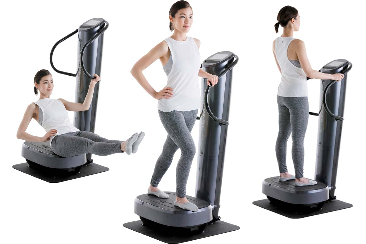 ひざに負担がかかりにくい! 業界初「上下振動」を採用した家庭用トレーニングマシン登場