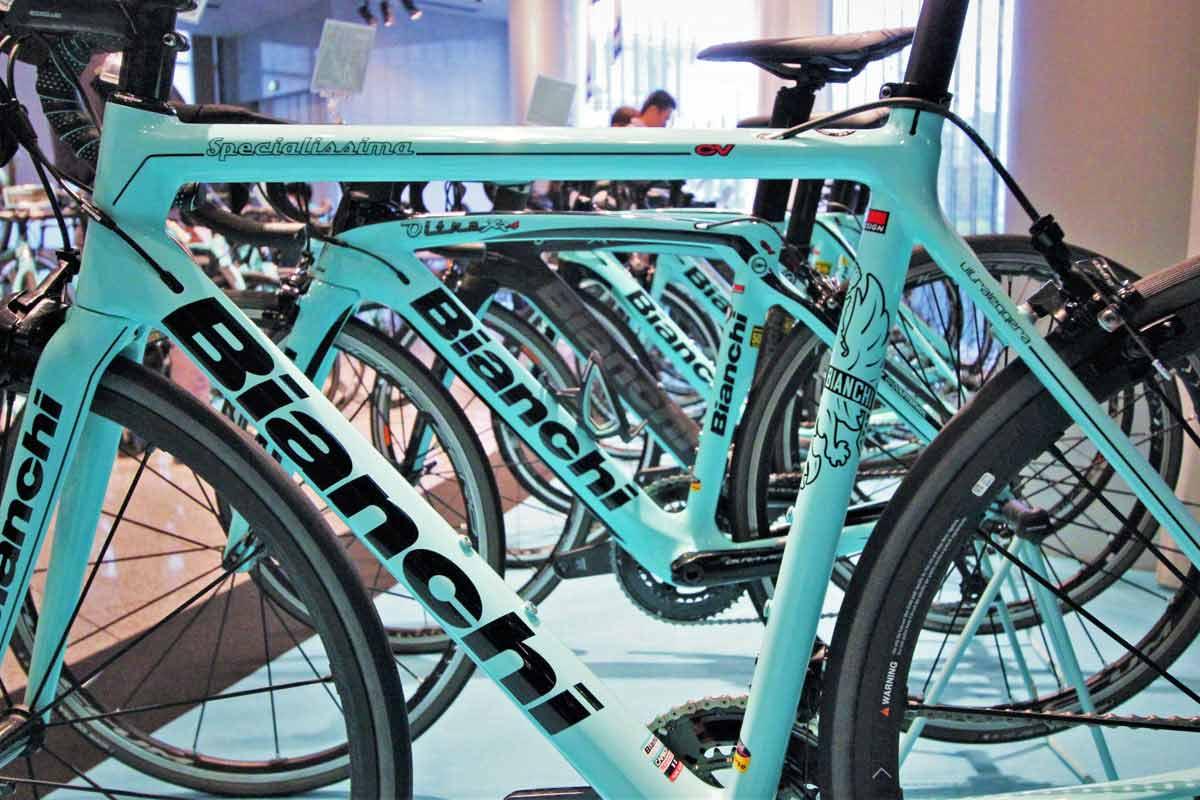 現存する世界最古の自転車ブランド「ビアンキ」の2019年最新モデルを見てきた!