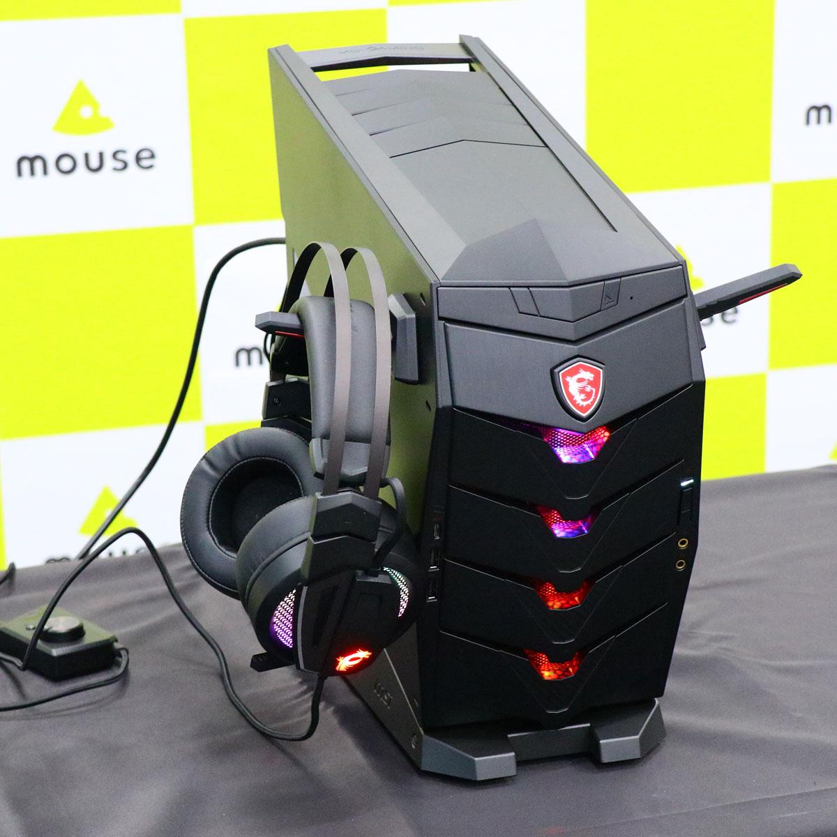マウスがMSIのゲーミングPCの取扱開始!? 新モデルは日本独占販売