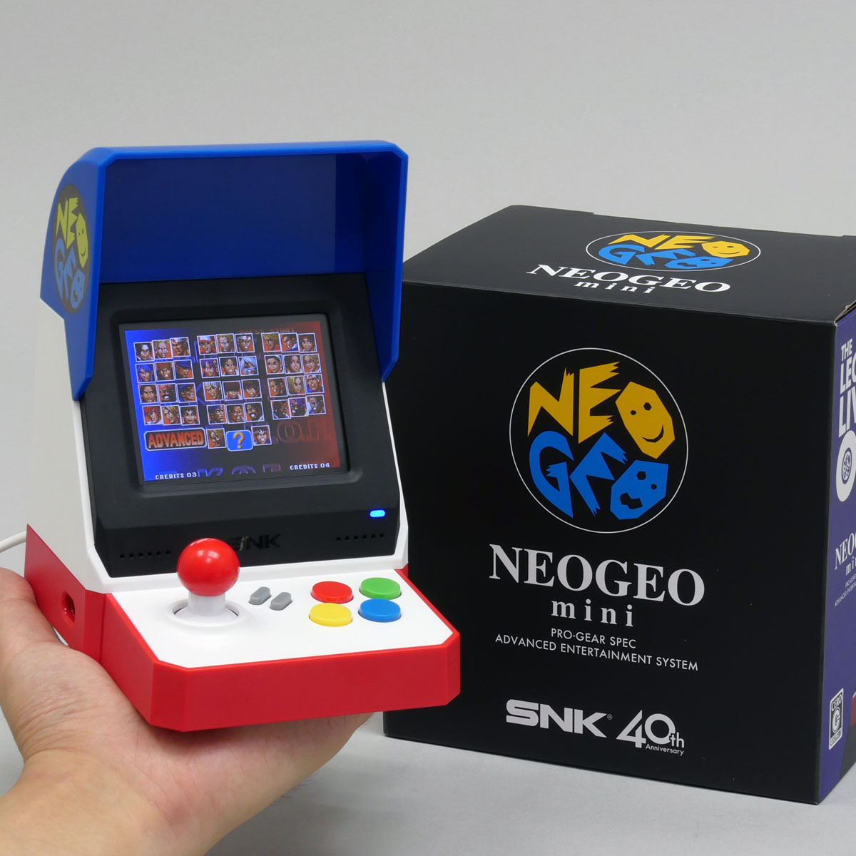 ついに「NEOGEO mini」(ネオジオミニ)が登場! ゲーセンの興奮が再び