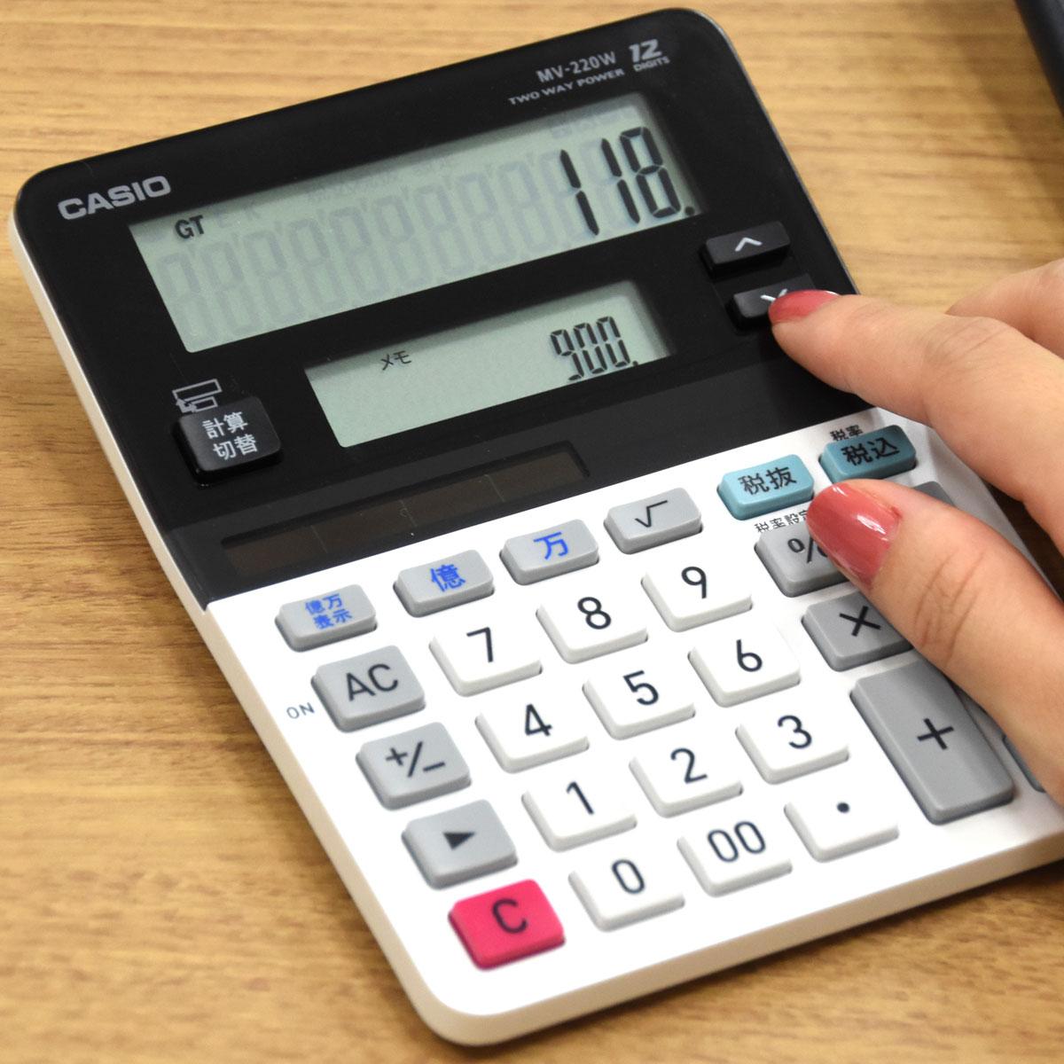 芸達者なカシオの「電卓」大集合! 2画面、丸洗い、余り計算!