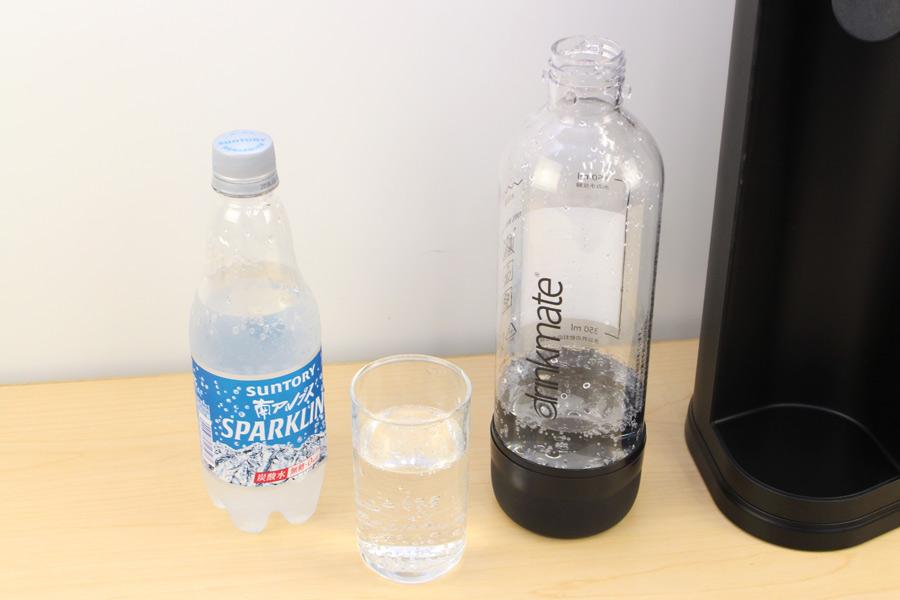 炭酸 水 チャレンジ