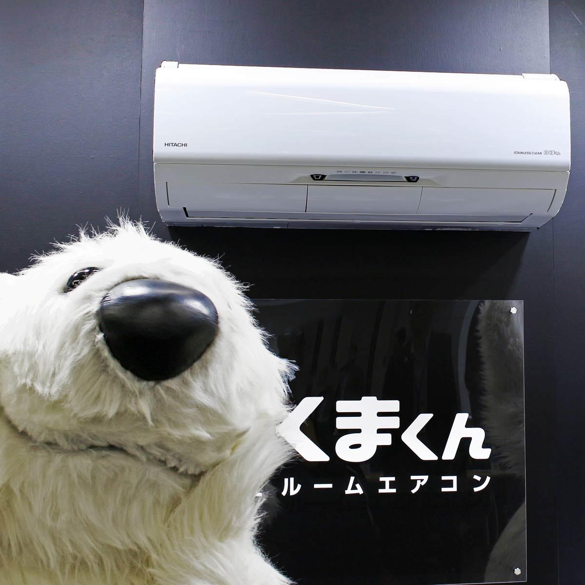 凍らせて熱交換器の汚れを落とす「白くまくん」新モデルは、ファンの掃除もエアコンにおまかせ!