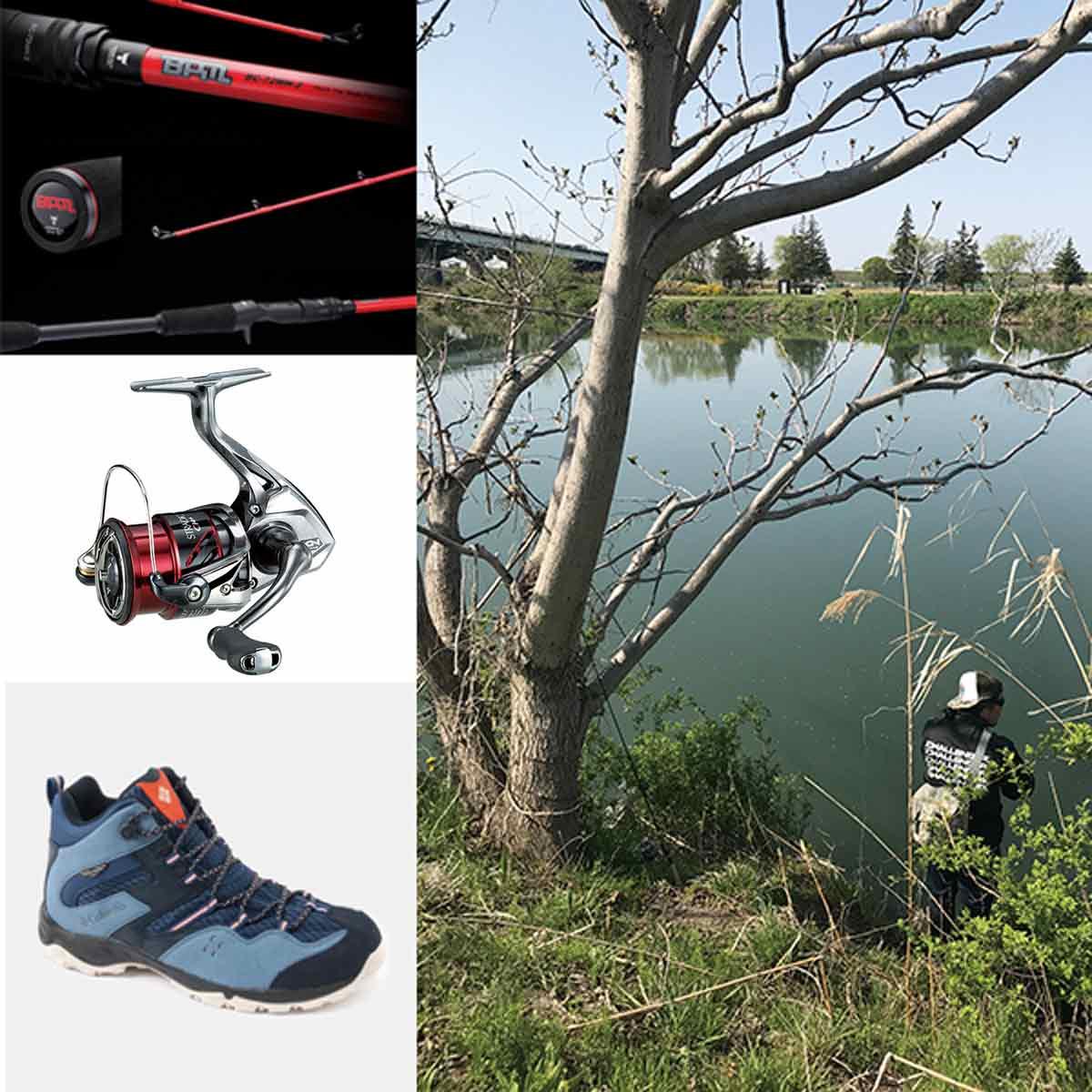 電車釣行! 「バス釣り」初心者が選ぶべき道具&ウェア