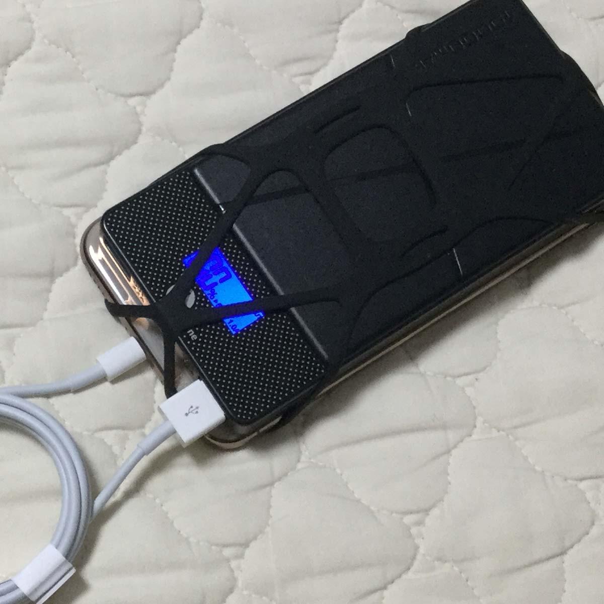 """スマホとバッテリーは""""束ねて""""GO! 「X-GRIP」で快適モバイル生活"""