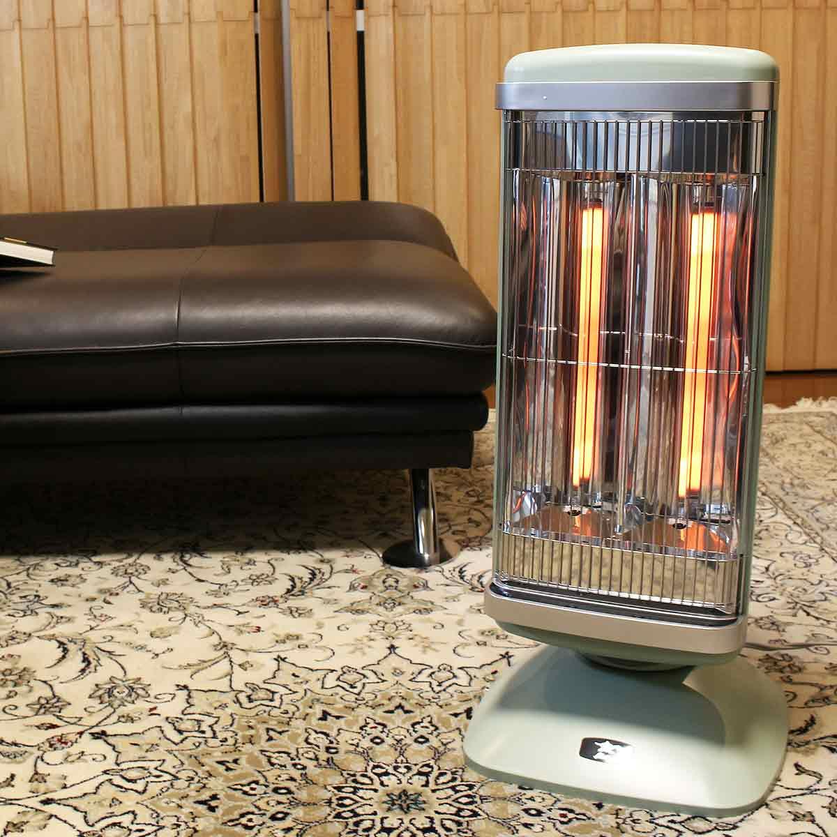 """わずか0.2秒の即暖! """"異なる温度""""でムラをなくしたアラジンの新「グラファイトヒーター」"""