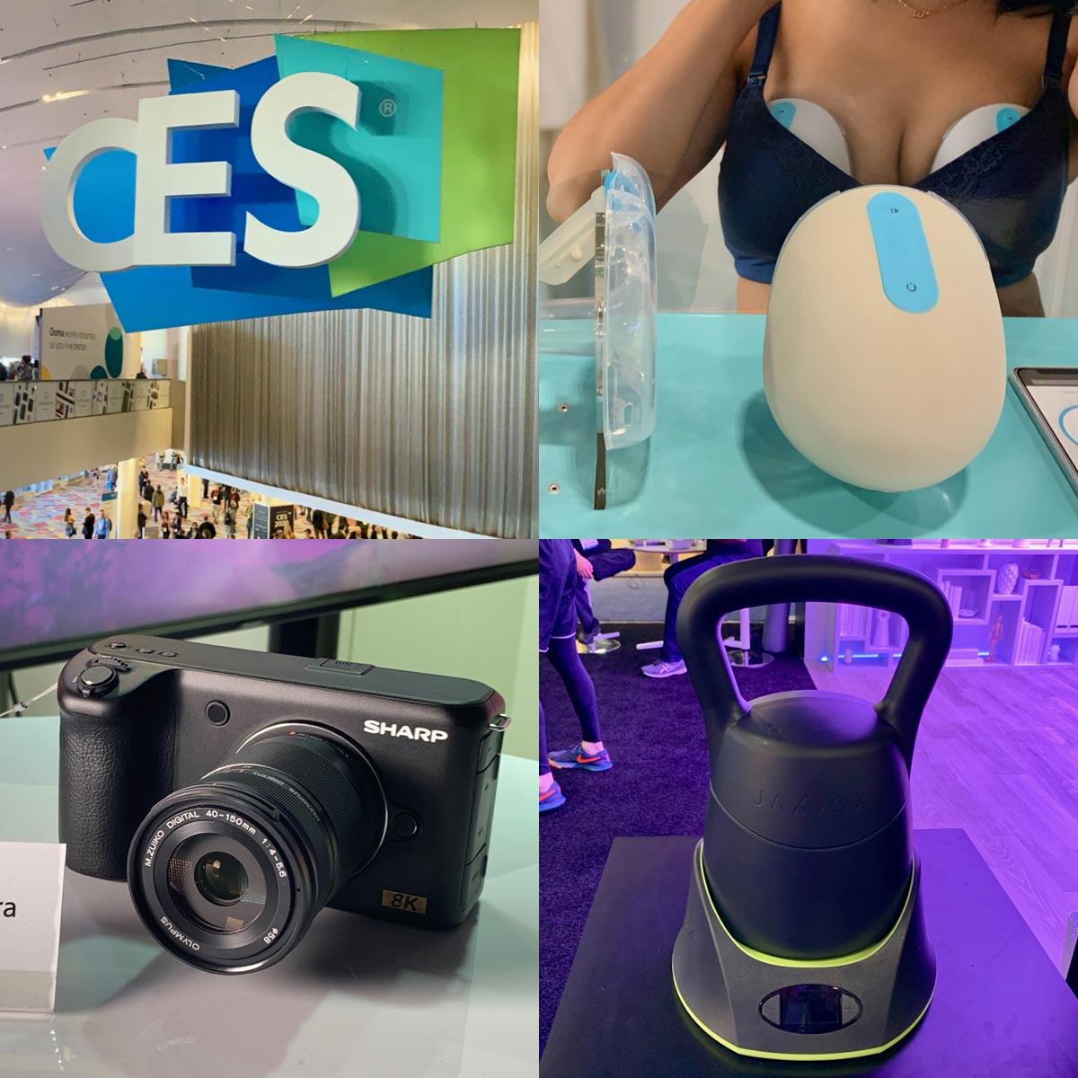 IoT防弾ベストから搾乳機まで! ある意味カオスな面白製品たち@CES 2019