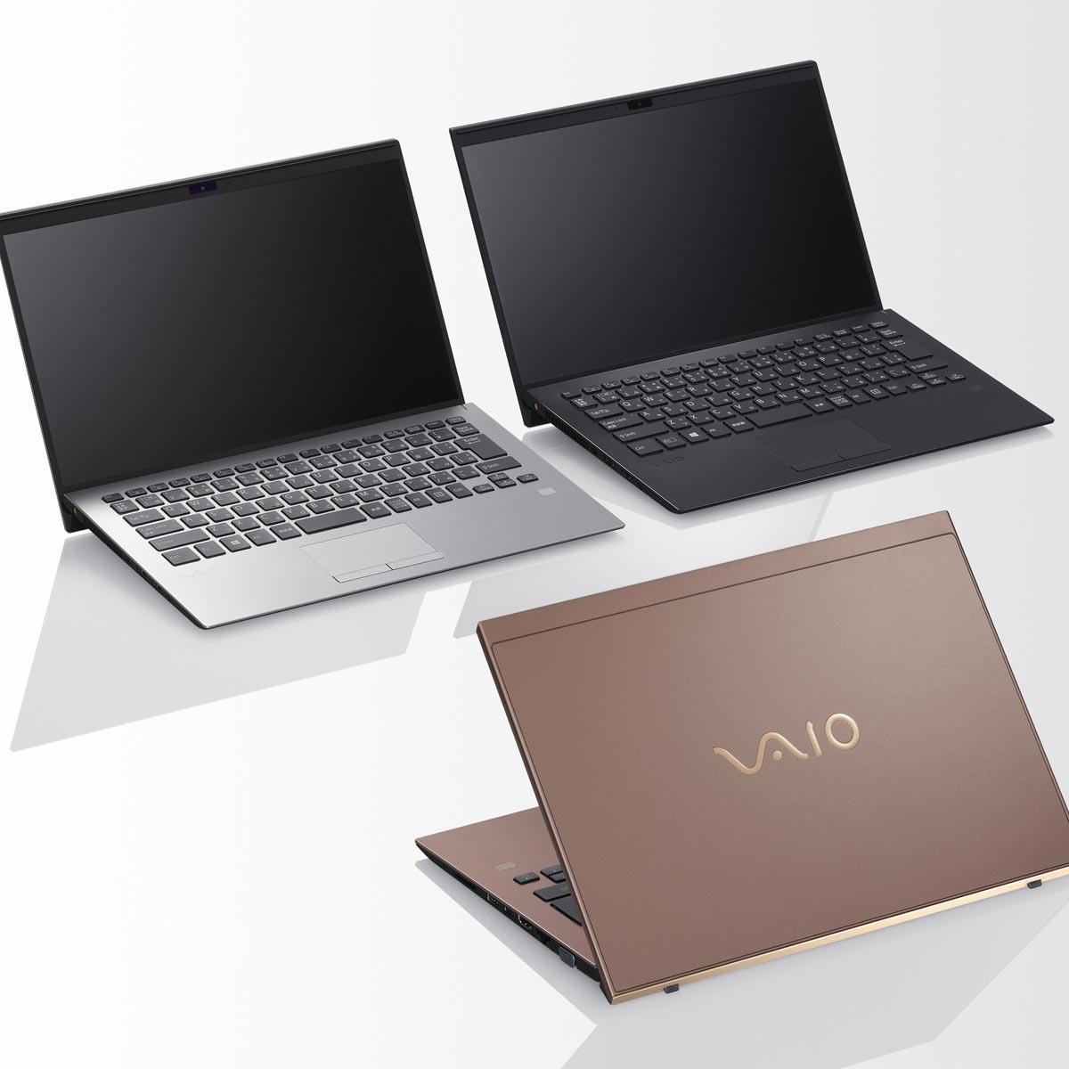 13型のボディサイズに14型液晶を搭載した大画面モバイル「VAIO SX14」