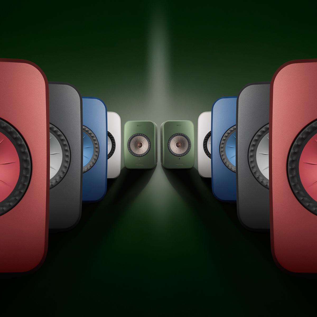 KEFのハイレゾ対応フルワイヤレススピーカー「LSX」はスピーカーっぽくないデザインが魅力的!