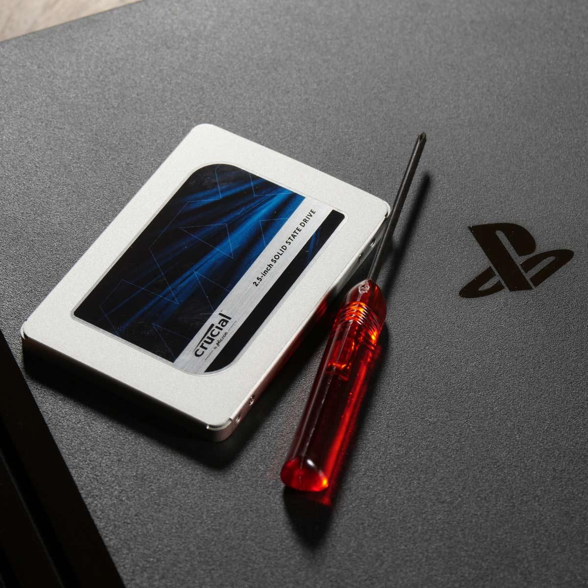 「PS4 Pro」をSSDに換装して高速化する方法を徹底解説!