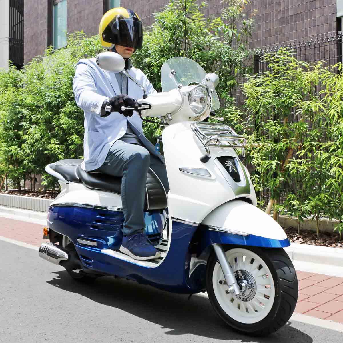 通勤や通学に使いたい! プジョーのおしゃれなスクーター「ジャンゴ 125 エバージョン ABS」
