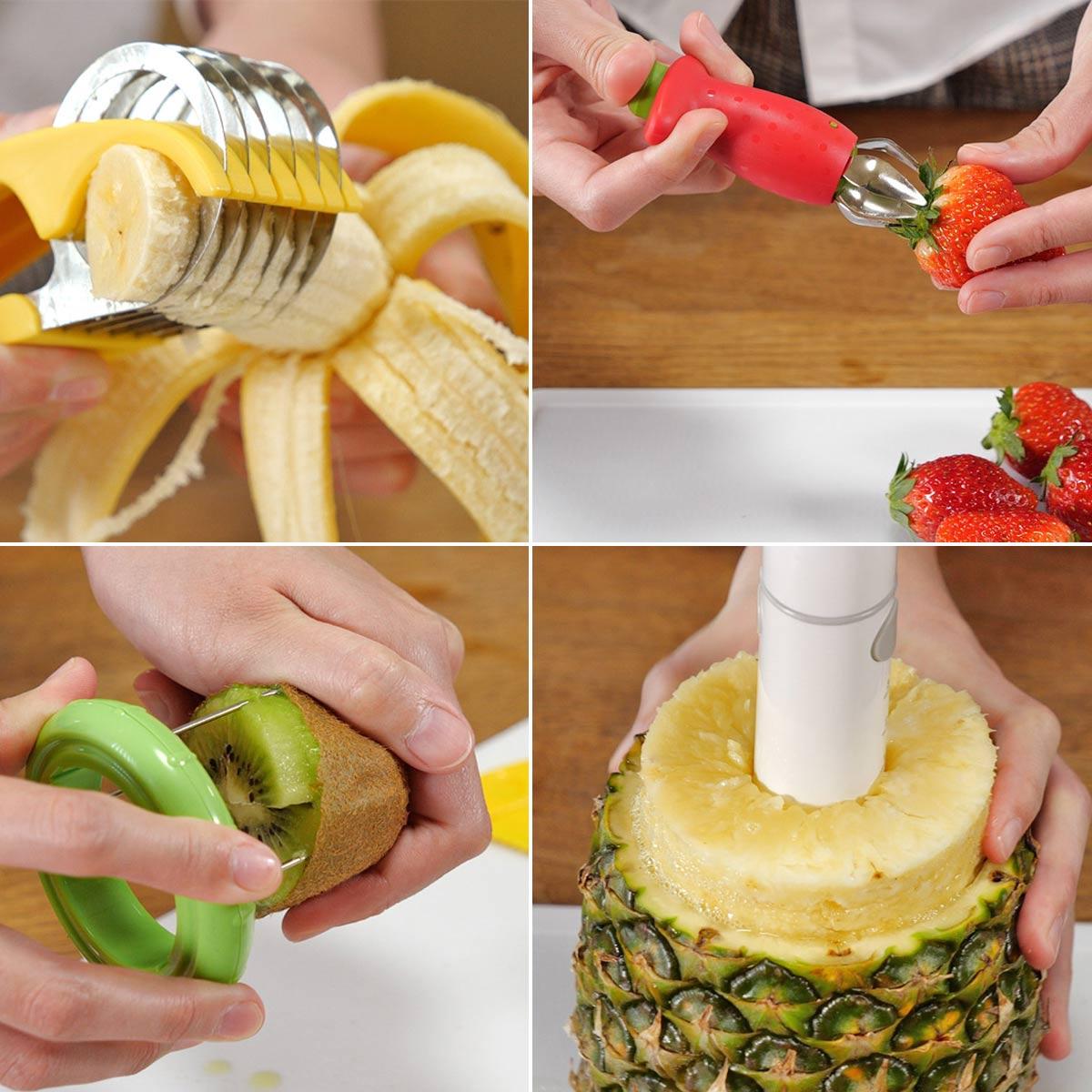 果実がスポッと抜ける! フルーツを食べるときに役立つ便利グッズ4選